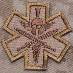 MSM TACTICAL MEDIC - SPARTAN - DESERT - Hock Gift Shop | Army Online Store in Singapore