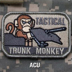 MSM TACTICAL TRUNK MONKEY - ACU - Hock Gift Shop | Army Online Store in Singapore