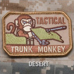 MSM TACTICAL TRUNK MONKEY - DESERT - Hock Gift Shop | Army Online Store in Singapore