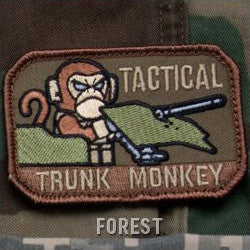 MSM TACTICAL TRUNK MONKEY - FOREST - Hock Gift Shop | Army Online Store in Singapore