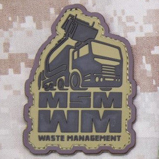 MSM WASTE MANAGEMENT PVC - DESERT - Hock Gift Shop | Army Online Store in Singapore