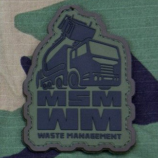 MSM WASTE MANAGEMENT PVC - FOREST - Hock Gift Shop | Army Online Store in Singapore