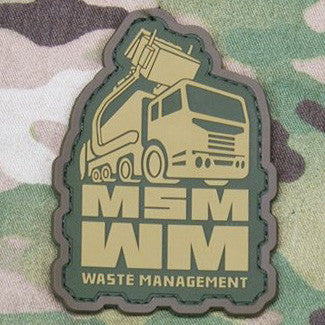 MSM WASTE MANAGEMENT PVC - MULTICAM - Hock Gift Shop | Army Online Store in Singapore