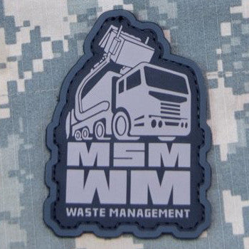 MSM WASTE MANAGEMENT PVC - URBAN - Hock Gift Shop | Army Online Store in Singapore
