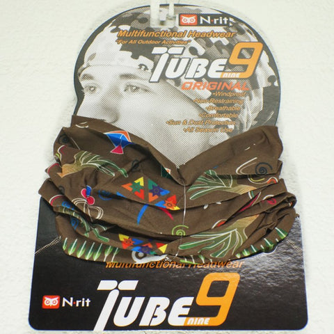 N-RIT TUBE 9 ORIGINAL MULTIFUNCTIONAL HEADWEAR - DESERT - Hock Gift Shop | Army Online Store in Singapore