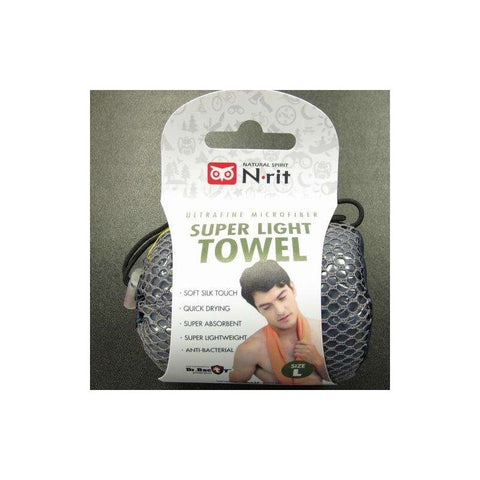 N-RIT ULTRAFINE MICROFIBER SUPER LIGHT TOWEL - LARGE - Hock Gift Shop | Army Online Store in Singapore