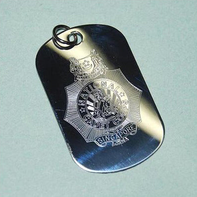 NATIONAL CADET CORPS (NCC) DOG TAG - Hock Gift Shop | Army Online Store in Singapore