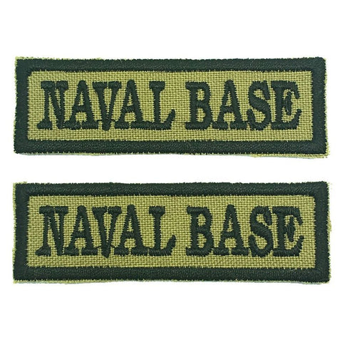 NAVAL BASE NCC SCHOOL TAG - 1 PAIR - Hock Gift Shop | Army Online Store in Singapore