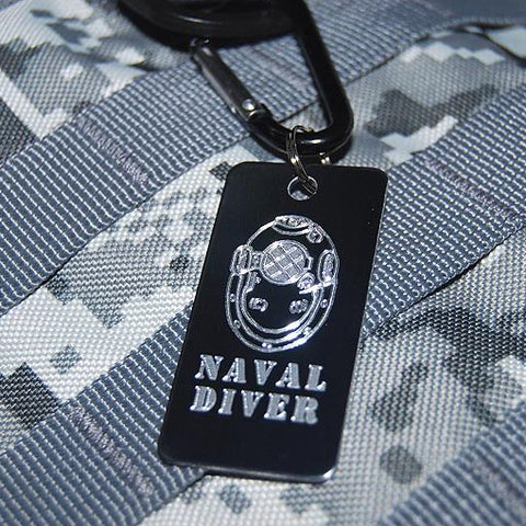 UNIT LUGGAGE TAG - NAVAL DIVER
