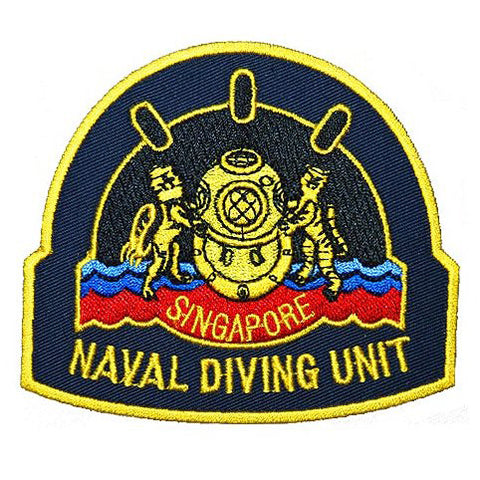 NAVAL DIVING UNIT PATCH - FULL COLOR - Hock Gift Shop | Army Online Store in Singapore