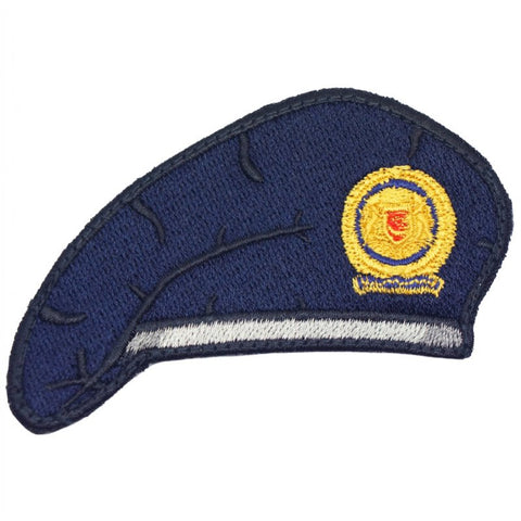 NAVY BLUE BERET PATCH - SAF COMBAT SUPPORT - Hock Gift Shop | Army Online Store in Singapore
