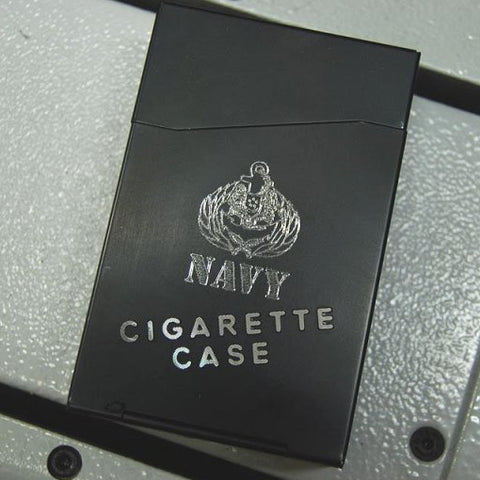 NAVY CIGARETTE CASE - Hock Gift Shop | Army Online Store in Singapore