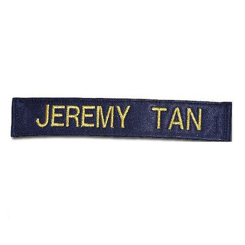 NAVY COVERALL NAME TAG (WITH VELCRO BACKING) - Hock Gift Shop | Army Online Store in Singapore