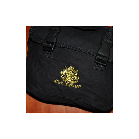 D&G SOLDIERTALK NDU SLING BAG - BLACK