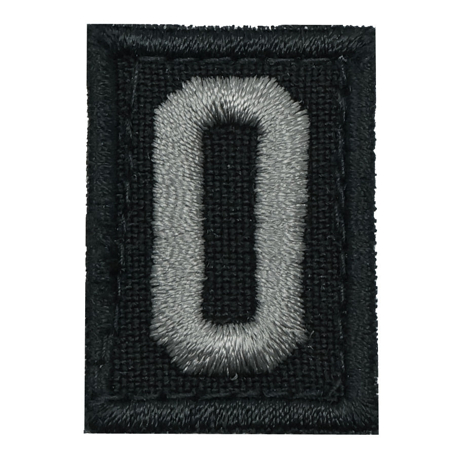 HGS NUMBER 0 PATCH - BLACK FOLIAGE