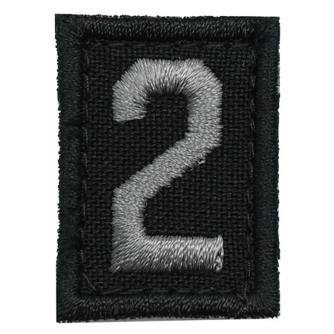 HGS NUMBER 2 PATCH - BLACK FOLIAGE