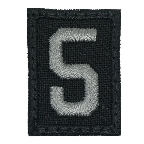 HGS NUMBER 5 PATCH - BLACK FOLIAGE