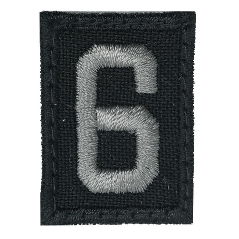 HGS NUMBER 6 PATCH - BLACK FOLIAGE