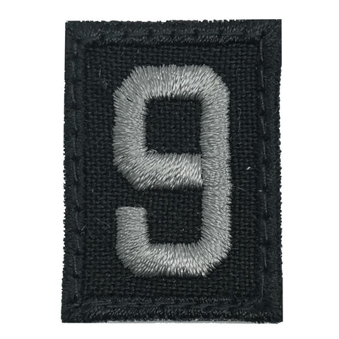 HGS NUMBER 9 PATCH - BLACK FOLIAGE