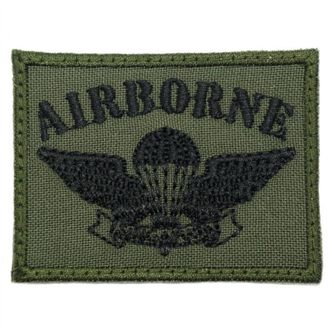 OLD SCHOOL SAF AIRBORNE PATCH - OD