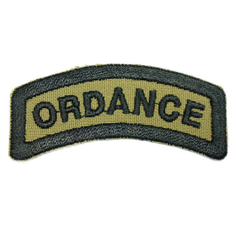 ORDANCE TAB - OLIVE GREEN