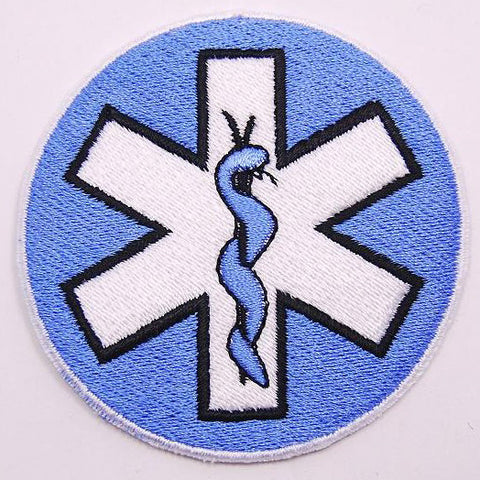PARAMEDIC SNAKE WING PATCH - BLUE - Hock Gift Shop | Army Online Store in Singapore