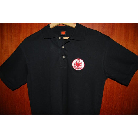 HGS POLO T-SHIRT - PARAMEDIC (RED LOGO) - Hock Gift Shop | Army Online Store in Singapore