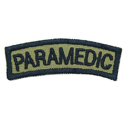 PARAMEDIC TAB - OLIVE GREEN - Hock Gift Shop | Army Online Store in Singapore