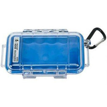 PELICAN 1015 MICRO CASE - CLEAR BLUE LINER - Hock Gift Shop | Army Online Store in Singapore