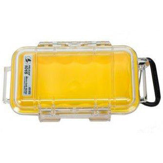 PELICAN 1015 MICRO CASE - CLEAR YELLOW LINER - Hock Gift Shop | Army Online Store in Singapore