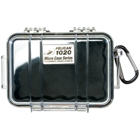 PELICAN 1020 MICRO CASE - CLEAR BLACK LINER - Hock Gift Shop | Army Online Store in Singapore
