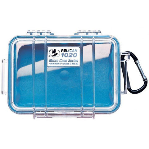 PELICAN 1020 MICRO CASE - CLEAR BLUE LINER - Hock Gift Shop | Army Online Store in Singapore