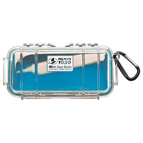 PELICAN 1030 MICRO CASE - CLEAR BLUE LINER - Hock Gift Shop | Army Online Store in Singapore