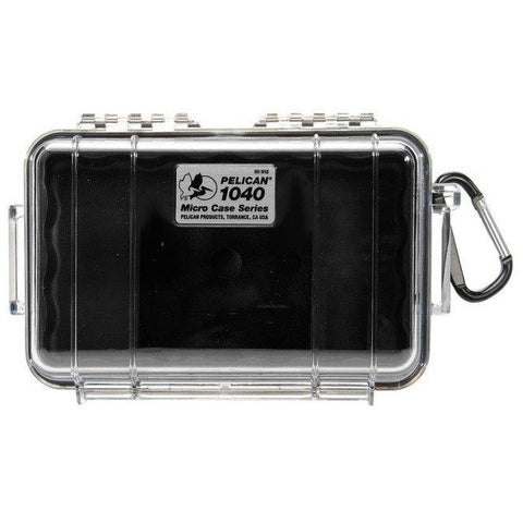 PELICAN 1040 MICRO CASE - CLEAR BLACK LINER - Hock Gift Shop | Army Online Store in Singapore