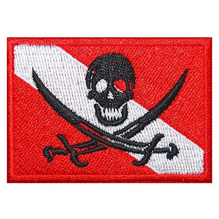 PIRATE DIVER'S FLAG - Hock Gift Shop | Army Online Store in Singapore