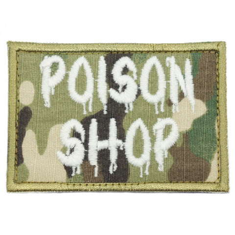 POISON SHOP PATCH - GLOW (MULTICAM) - Hock Gift Shop | Army Online Store in Singapore