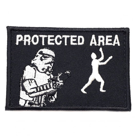 PROTECTED AREA PATCH - BLACK - Hock Gift Shop | Army Online Store in Singapore