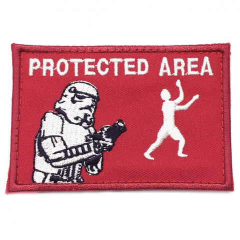 PROTECTED AREA PATCH - RED - Hock Gift Shop | Army Online Store in Singapore
