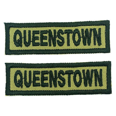 QUEENSTOWN NCC SCHOOL TAG - 1 PAIR - Hock Gift Shop | Army Online Store in Singapore