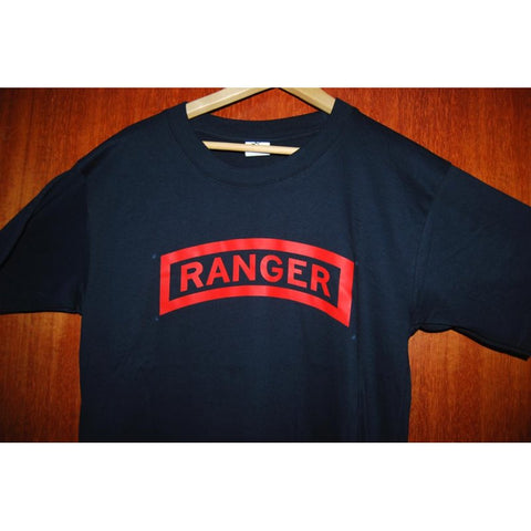 HGS T-SHIRT - RANGER TAB (RED PRINT) - Hock Gift Shop | Army Online Store in Singapore