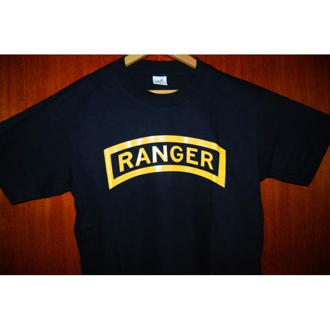 HGS T-SHIRT - RANGER TAB (YELLOW PRINT) - Hock Gift Shop | Army Online Store in Singapore