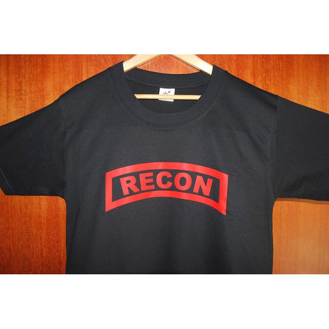 HGS T-SHIRT - RECON TAB (RED PRINT) - Hock Gift Shop | Army Online Store in Singapore