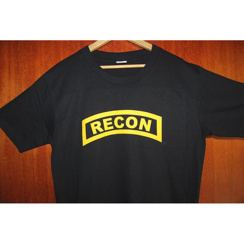 HGS T-SHIRT - RECON TAB (YELLOW PRINT) - Hock Gift Shop | Army Online Store in Singapore