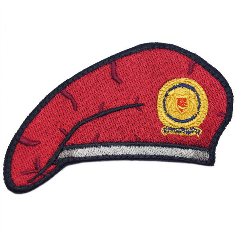 RED BERET PATCH - SAF COMMANDO - Hock Gift Shop | Army Online Store in Singapore