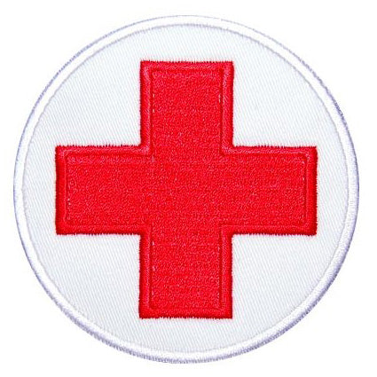 ROUND MEDIC CROSS PATCH - Hock Gift Shop | Army Online Store in Singapore