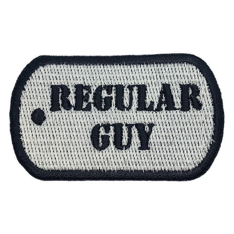 REGULAR GUY DOG TAG PATCH - SILVER - Hock Gift Shop | Army Online Store in Singapore