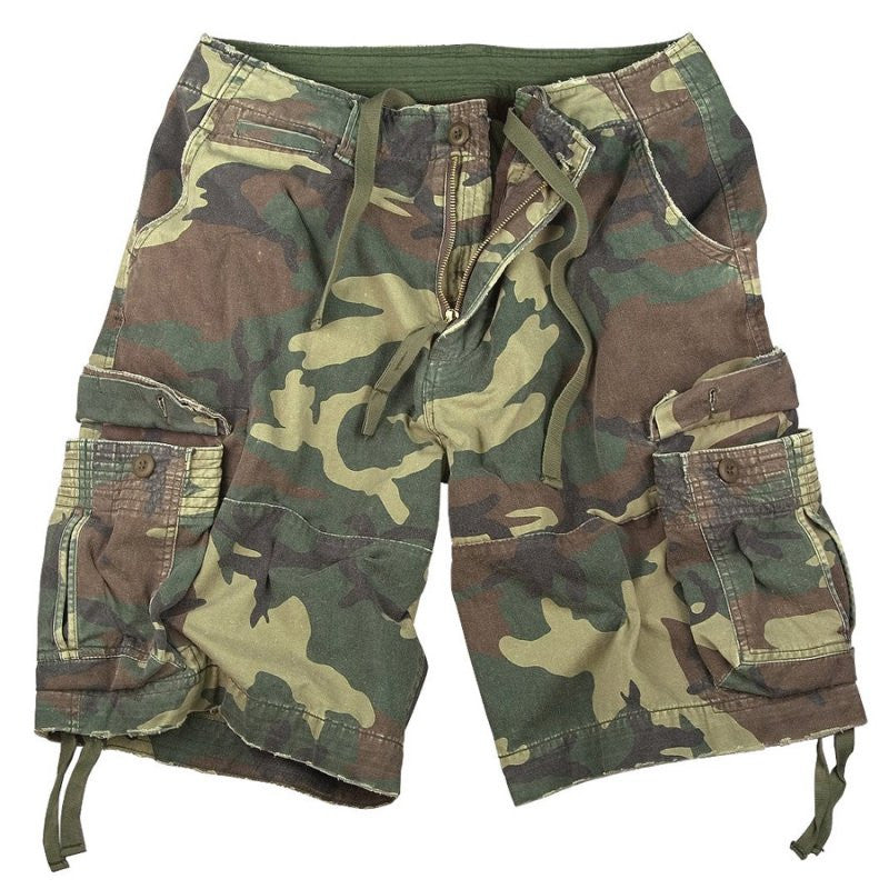 ROTHCO INFANTRY SHORTS - WOODLAND CAMO - Hock Gift Shop | Army Online Store in Singapore