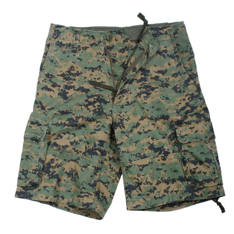 ROTHCO INFANTRY SHORTS - WOODLAND DIGITAL - Hock Gift Shop | Army Online Store in Singapore