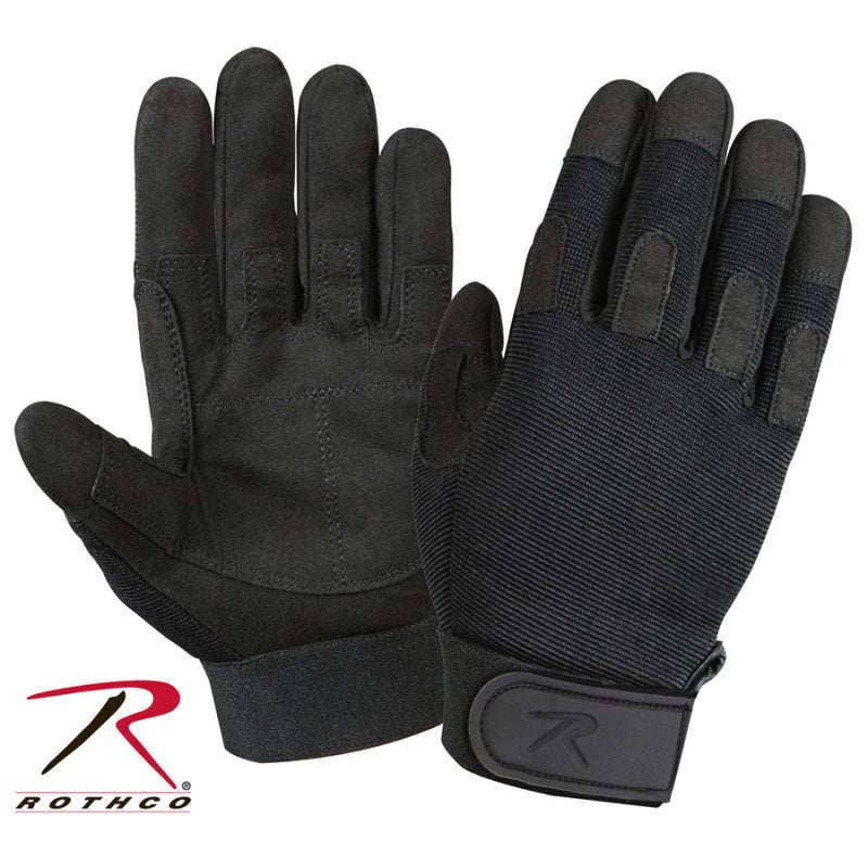 ROTHCO LIGHTWEIGHT ALL PURPOSE DUTY GLOVES - BLACK - Hock Gift Shop | Army Online Store in Singapore