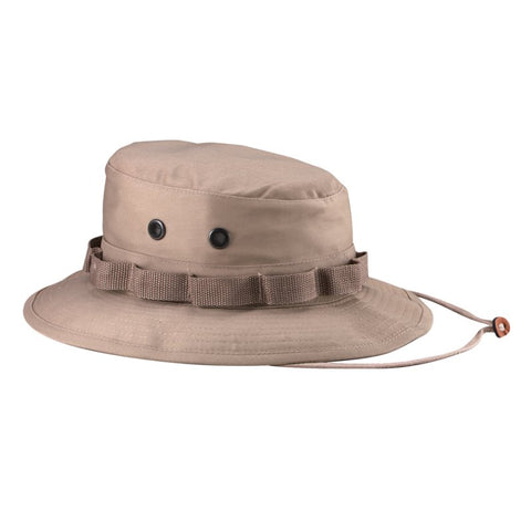 ROTHCO RIP-STOP BOONIE HAT - KHAKI - Hock Gift Shop | Army Online Store in Singapore